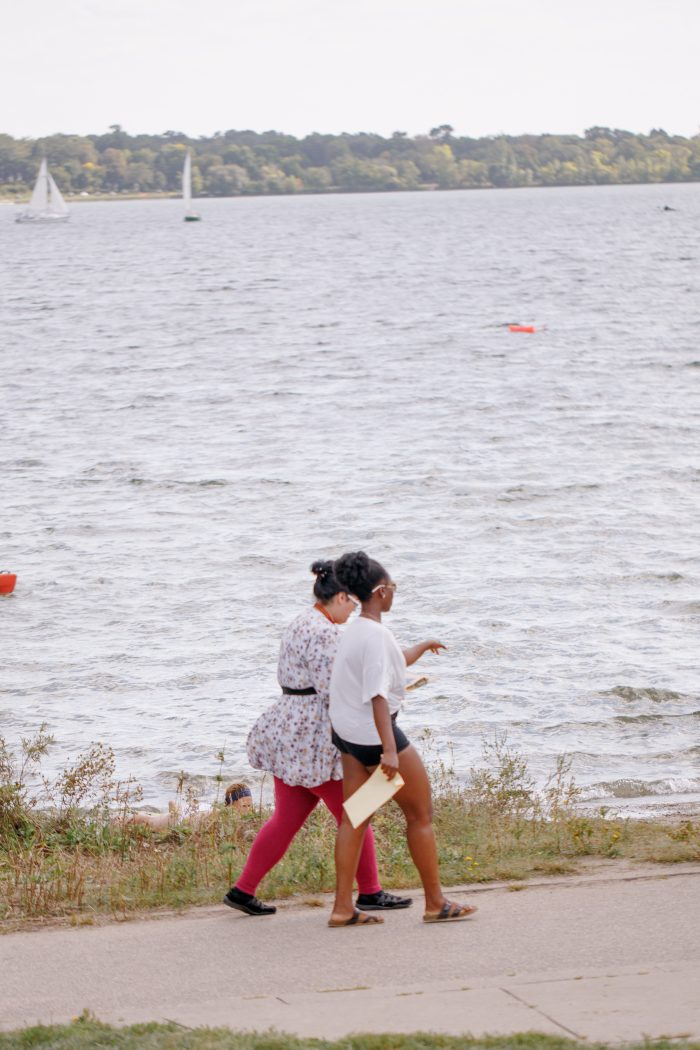 Tobi's Proposal in Minnehaha Falls, Minneapolis