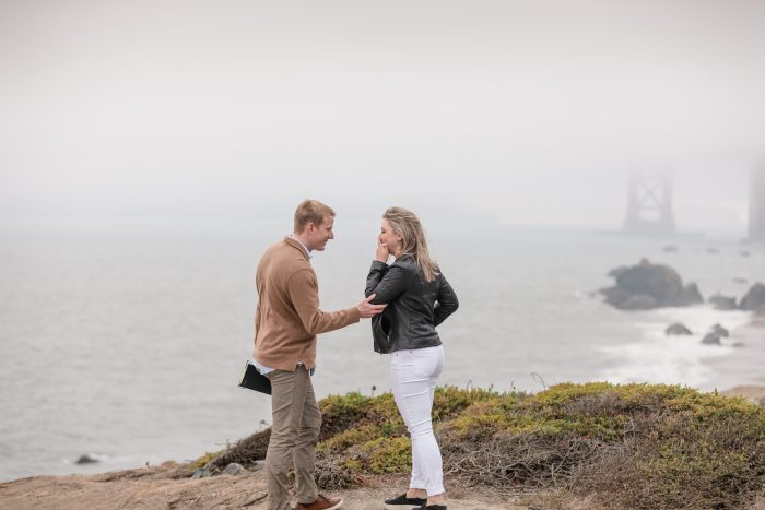 Payton and Parker's Engagement in San Fransisco, CA