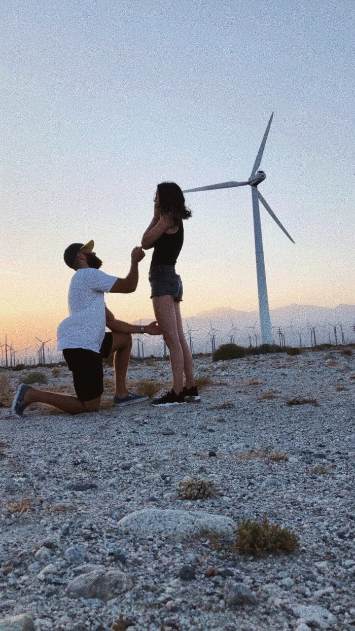 Karlee and Colby's Engagement in Palm Springs