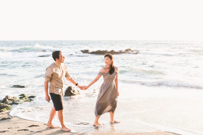 Jing and Jing's Engagement in Laguna Beach, California
