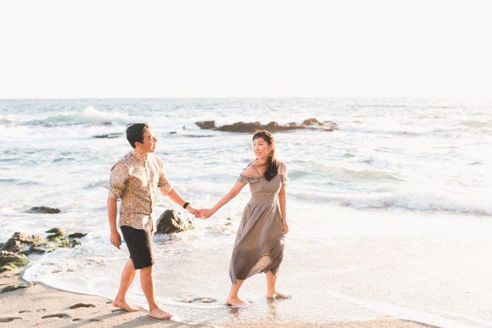 Jing and Jing's Engagement in Laguna Beach, California