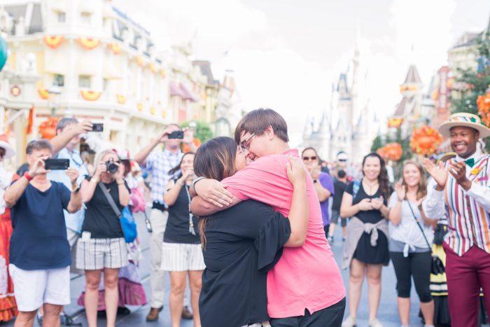 Kaylen's Proposal in Walt Disney World's Magic Kingdom