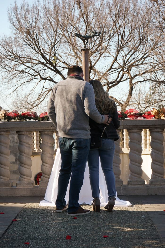 Marriage Proposal Ideas in Dallas Arboretum and Botanical Gardens