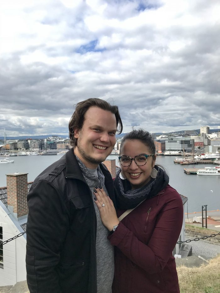 Rosa and Matthew's Engagement in Oslo, Norway