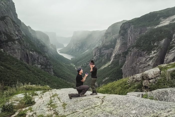Where to Propose in Gros Morne National Park, Newfoundland, Canada