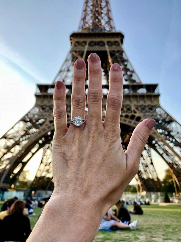 Engagement Proposal Ideas in Top of the Eiffel Tower