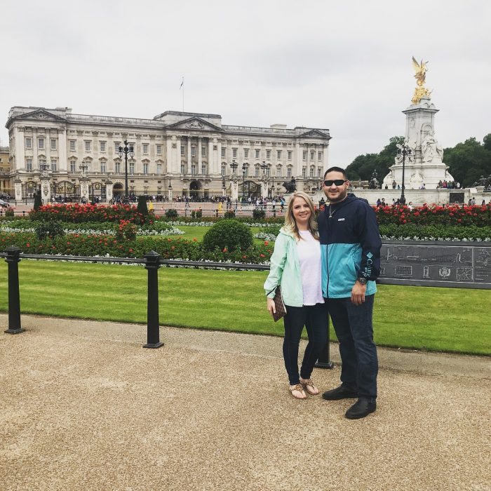Jennifer's Proposal in Buckingham palace