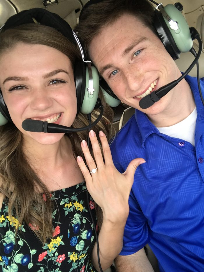 Kelsey's Proposal in Freedom Aviation