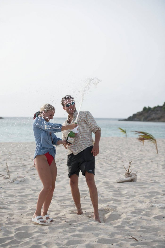 Marriage Proposal Ideas in Sandy Spit, British Virgin Islands