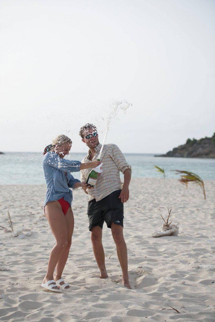 Marriage Proposal Ideas in Sandy Spit, British Virgin Islands