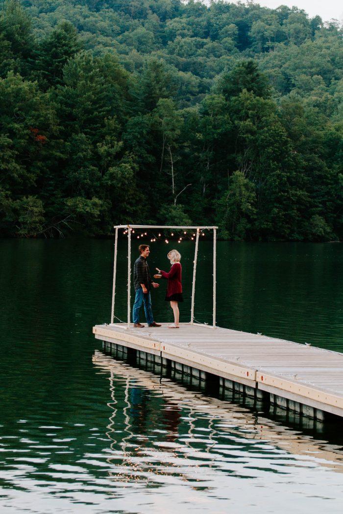 Marriage Proposal Ideas in Lake Nantahala, NC