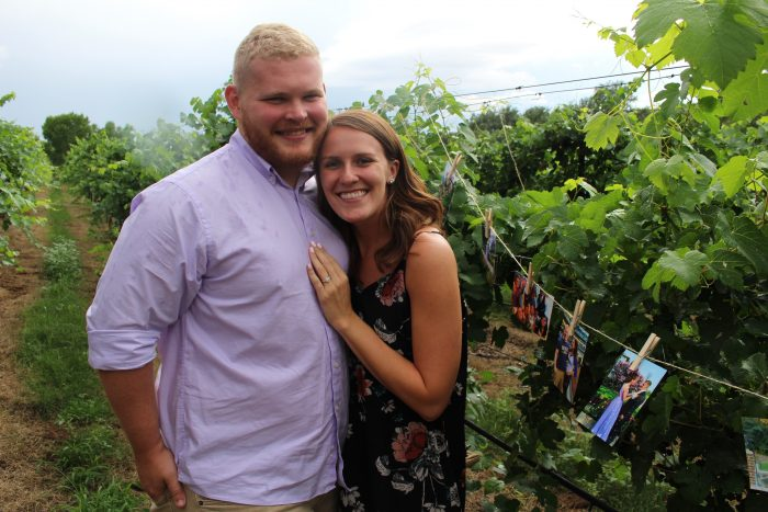 Ashtyn and Cole's Engagement in Page Springs Cellars, Sedona AZ
