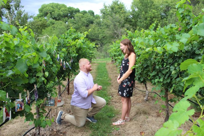 Where to Propose in Page Springs Cellars, Sedona AZ