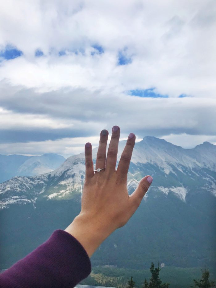 Marriage Proposal Ideas in Banff, Alberta