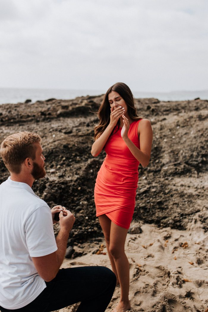 Danielle's Proposal in Laguna Beach, CA