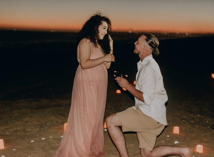 Desiree's Proposal in Balboa , Newport Beach
