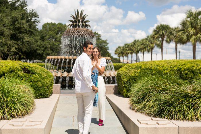 Julia's Proposal in Charleston, South Carolina
