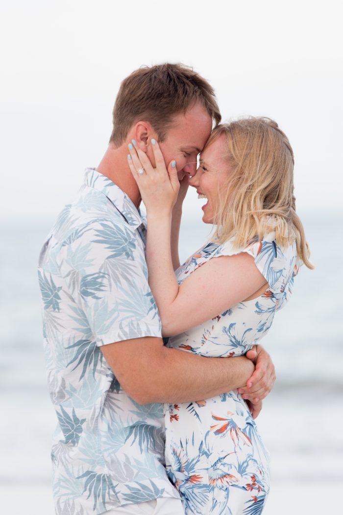 Marriage Proposal in Amelia Island, Florida