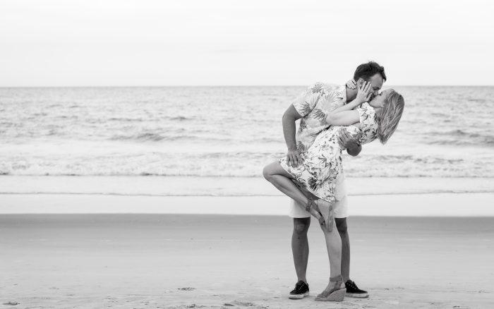 beach marriage proposal