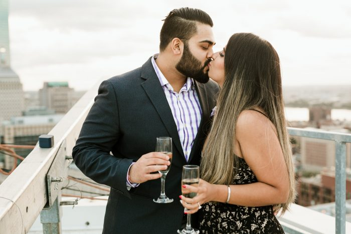 Where to Propose in W Hotel Boston- Rooftop