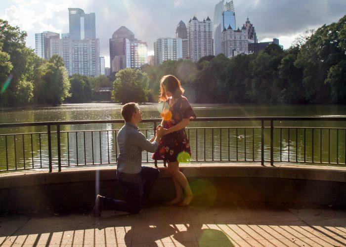 Autumn's Proposal in Atlanta, GA