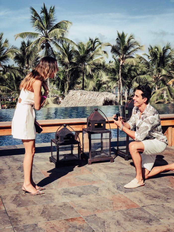 Ivana's Proposal in Punta Cana. Barcelo Bávaro Palace Hotel.