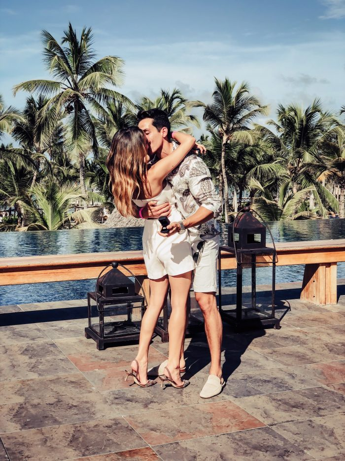 Marriage Proposal Ideas in Punta Cana. Barcelo Bávaro Palace Hotel.