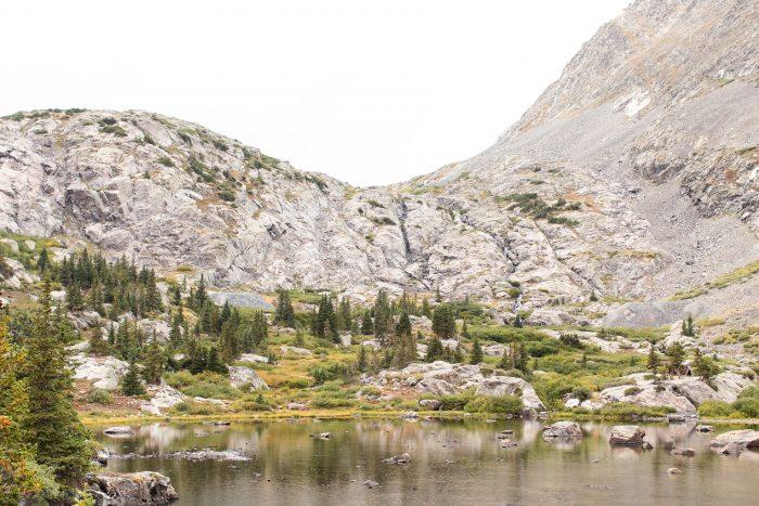 Where to Propose in Mohawk Lakes Trail, Breckenridge, Colorado