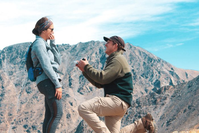 Wedding Proposal Ideas in Indian Peaks Wilderness