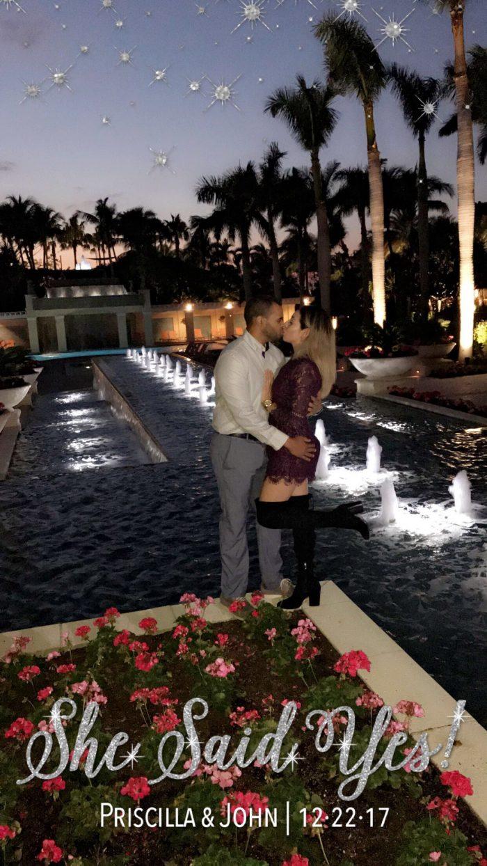 Wedding Proposal Ideas in The Hyatt Regency Estero Florida