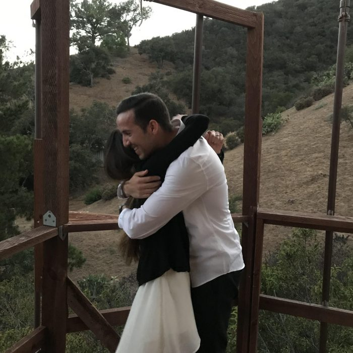 Proposal Ideas In the middle of the woods in Malibu! Specifically in a safari chic tent!