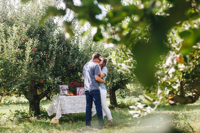 Engagement Proposal Ideas in Lynds Fruit Farm - Columbus,OH
