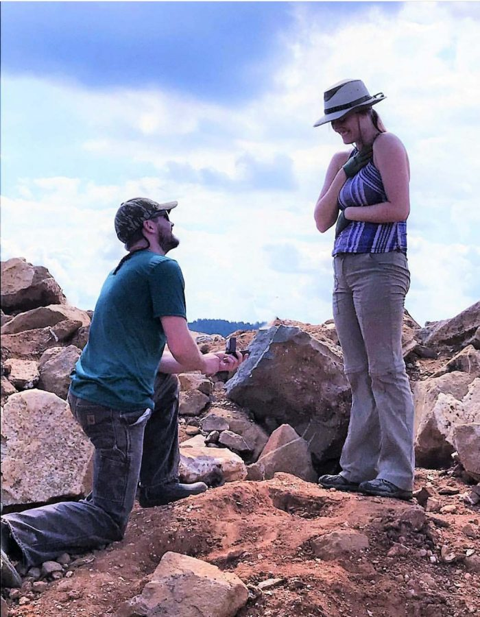 Wedding Proposal Ideas in Coleman's Crystal Mine near Hot Springs, Arknsas
