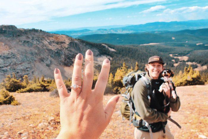 Marriage Proposal Ideas in Indian Peaks Wilderness