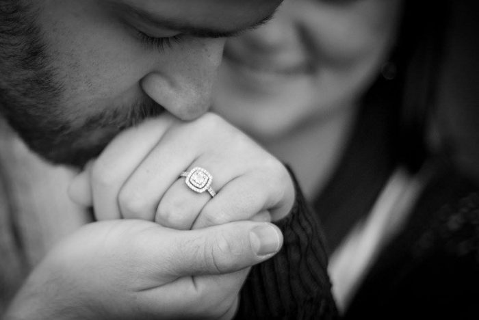 Elizabeth and Jacob's Engagement in The Point in Downtown Pittsburgh