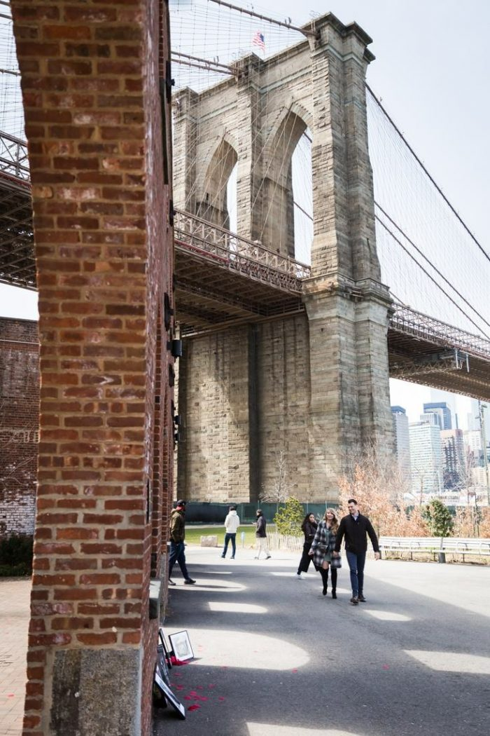 Marina's Proposal in Brooklyn Bridge