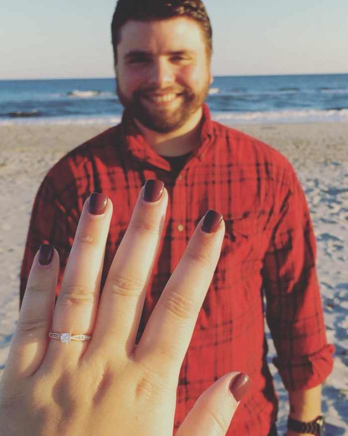 Engagement Proposal Ideas in Family cabin