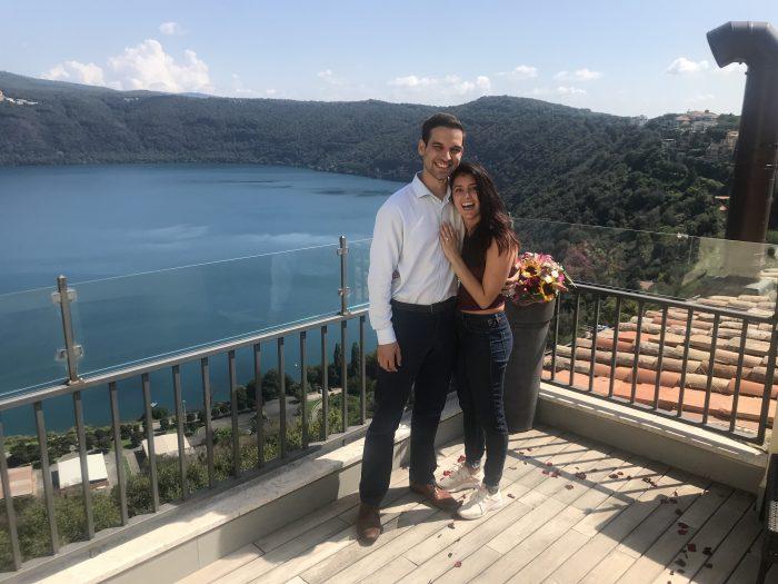 Engagement Proposal Ideas in Castel Gondolfo, Italy