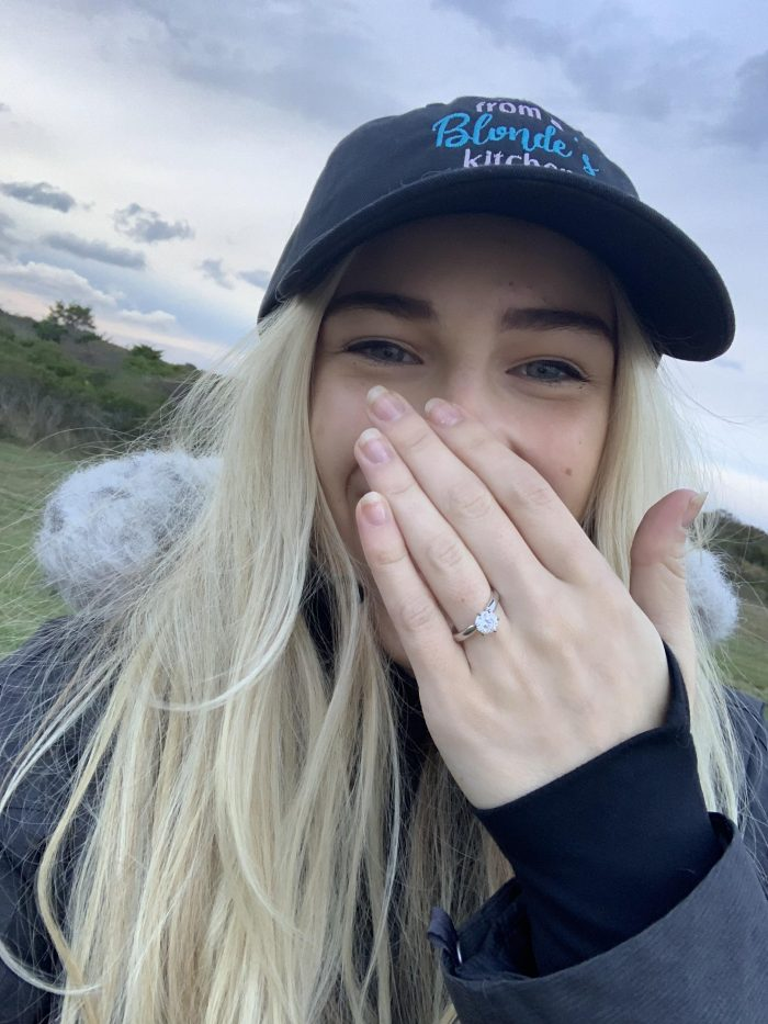 Rosemarie's Proposal in Montauk- Beach