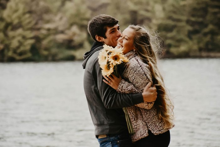 Rachel and Daniel's Engagement in Long Pine resevior PA