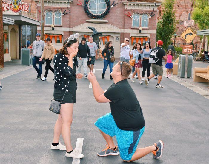 Wedding Proposal Ideas in Disneyland California