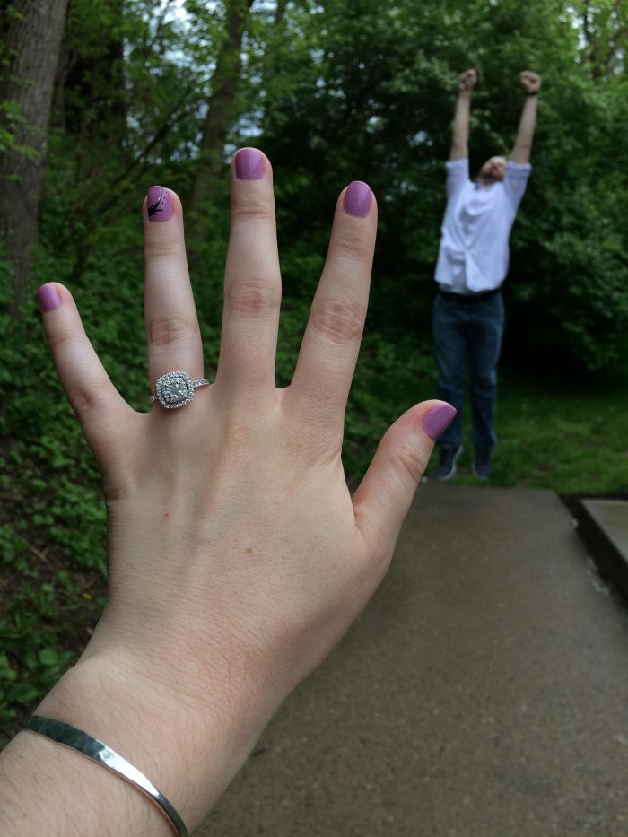 Where to Propose in The Point in Downtown Pittsburgh