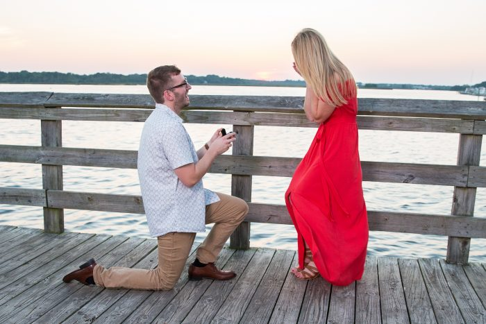Engagement Proposal Ideas in Windward Beach Park