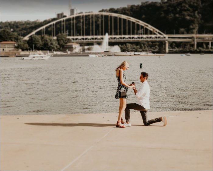 Kelly and Brenden's Engagement in Pittsburgh, PA