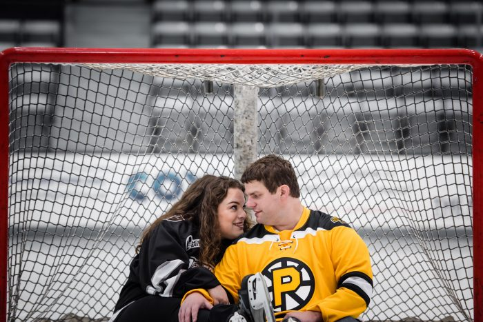 Wedding Proposal Ideas in Schneider Arena at Providence College