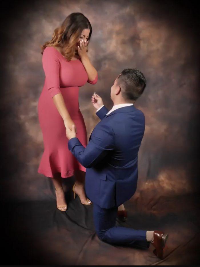 Engagement Proposal Ideas in Glamour Shots Bridgewater