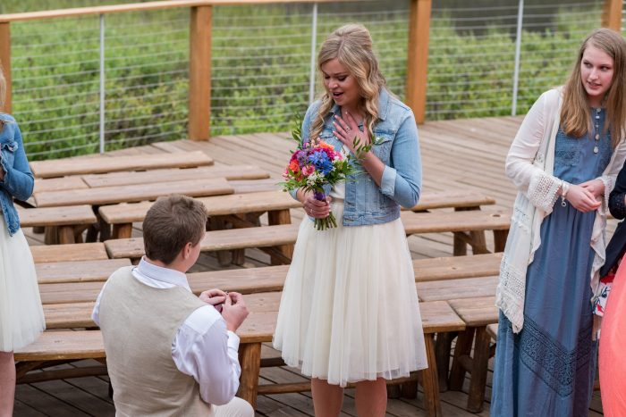 Erin and Zach's Engagement in Piney River Ranch, Vail, CO
