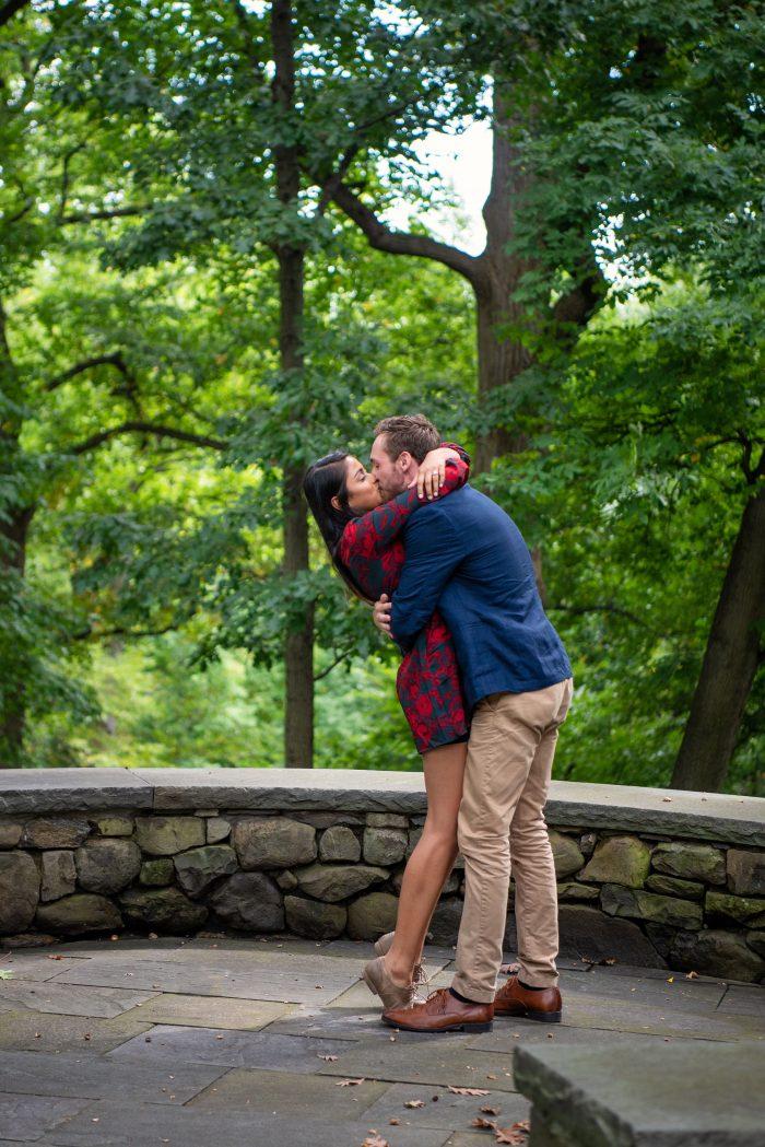 Wedding Proposal Ideas in New York Botanical Garden