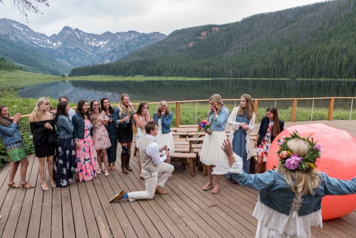 Wedding Proposal Ideas in Piney River Ranch, Vail, CO