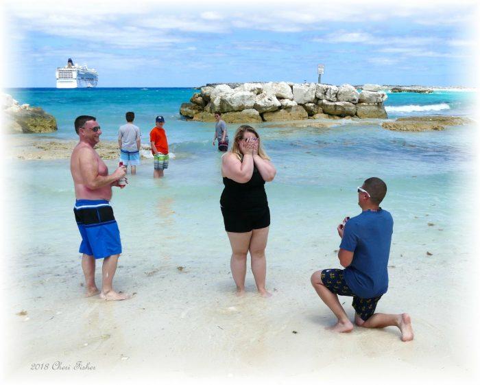 Wedding Proposal Ideas in Great stirrup cay bahamas